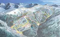 Keystone (Vail Resorts) Pisten Plan, Ski City Super Pass, USA
