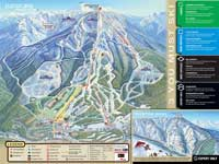 Skigebiet Panorama