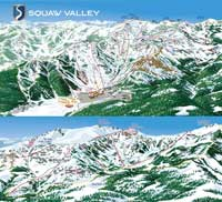 Skigebiet Squaw+Valley+Lake+Tahoe