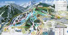 Aspen Buttermilk Pistenplan, Aspen/Snowmass, USA