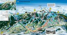 Snowmass Pistenplan, Aspen/Snowmass, USA